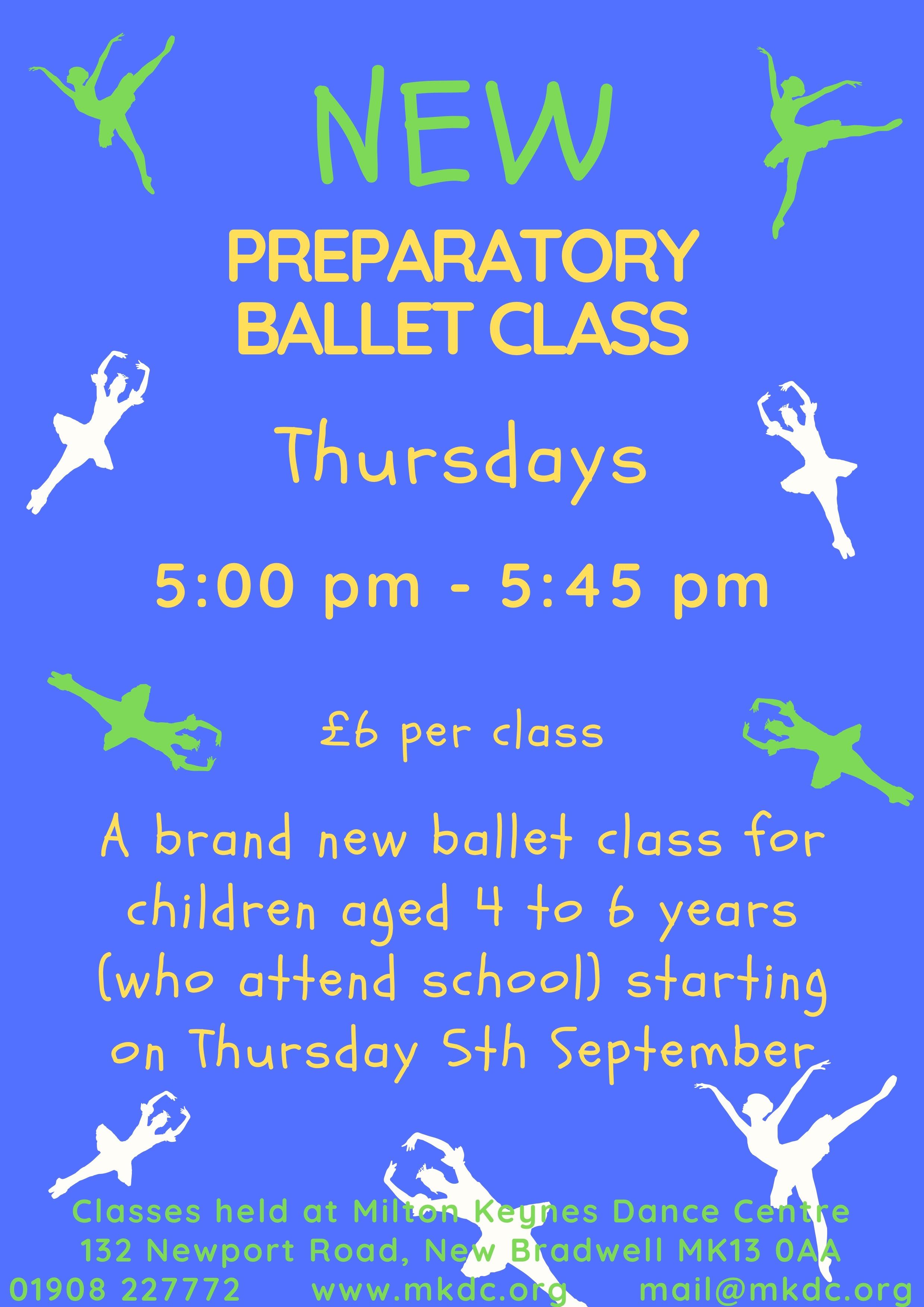 New Prep Ballet